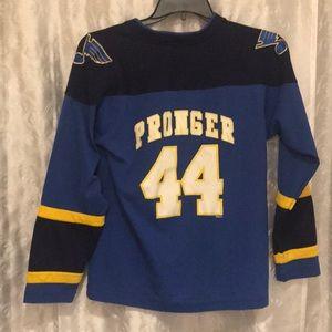 NHL St. Louis Blues Chris Pronger Jersey Size L!